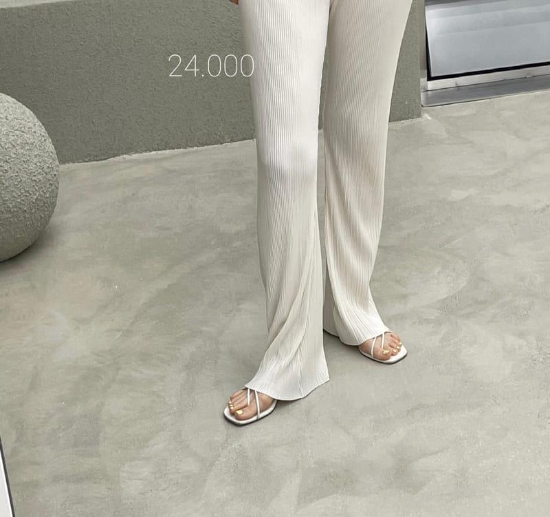 ONDO - Korean Children Fashion - #Kfashion4kids - Pleated Bootcut Pants