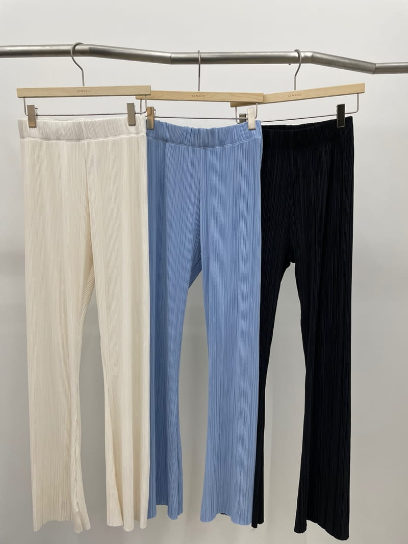 ONDO - Korean Children Fashion - #Kfashion4kids - Pleated Bootcut Pants - 4