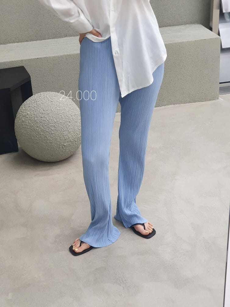 ONDO - BRAND - Korean Children Fashion - #Kfashion4kids - Pleated Bootcut Pants