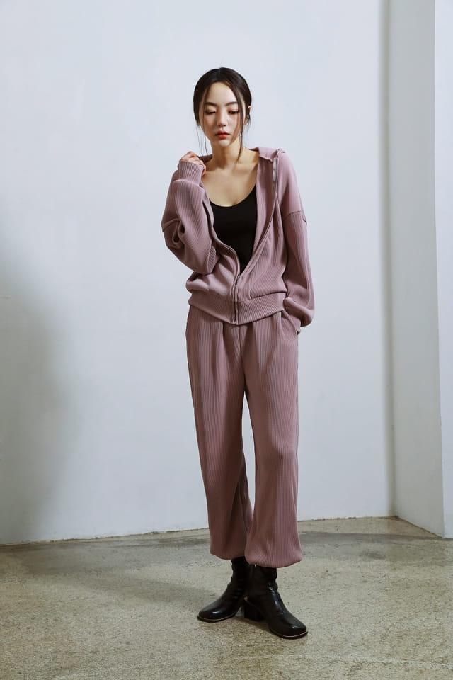 ONDO - Korean Children Fashion - #Kfashion4kids - Pleated Hood Zip-Up - 3