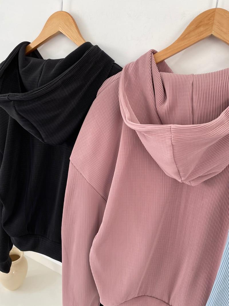 ONDO - Korean Children Fashion - #Kfashion4kids - Pleated Hood Zip-Up - 4