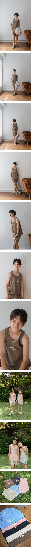 PAPER STUDIOS - Korean Children Fashion - #Kfashion4kids - Pigment Sleeveless