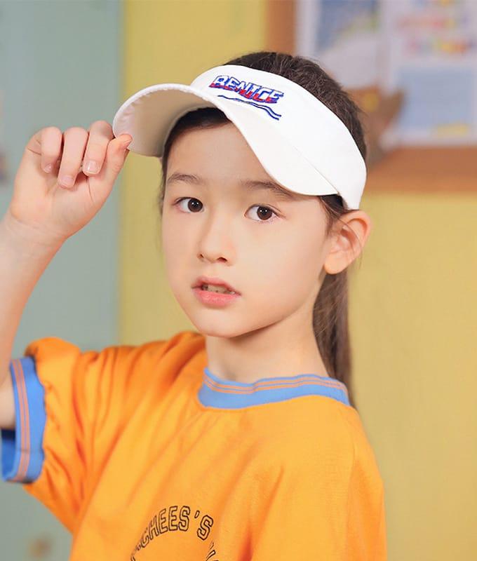 PEACH-CREAM - BRAND - Korean Children Fashion - #Kfashion4kids - Senec Sun Cap