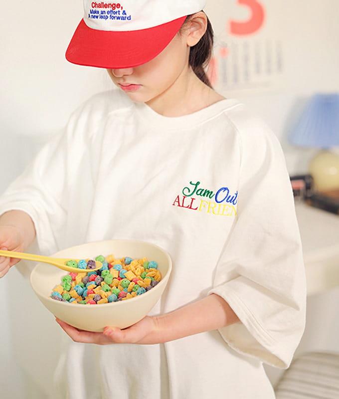 PEACH-CREAM - BRAND - Korean Children Fashion - #Kfashion4kids - Nuoro Tee
