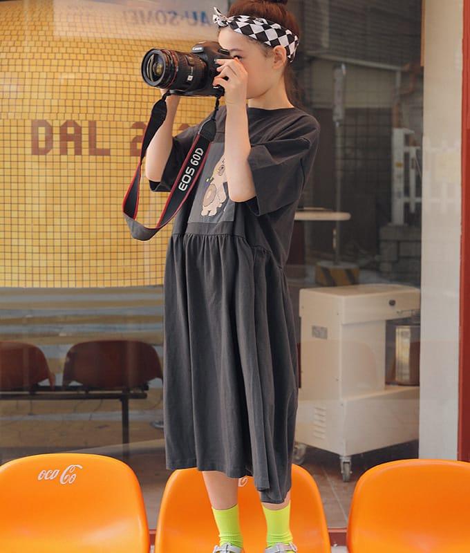 PEACH-CREAM - BRAND - Korean Children Fashion - #Kfashion4kids - Narni One-piece