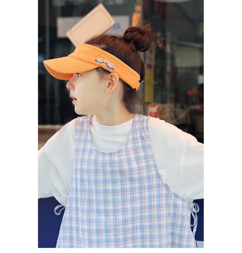 PEACH-CREAM - Korean Children Fashion - #Kfashion4kids - Nitra Sun Cap