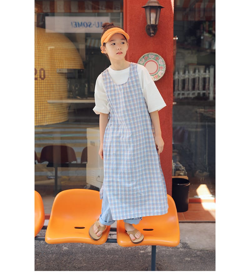 PEACH-CREAM - Korean Children Fashion - #Kfashion4kids - Chasia One-piece