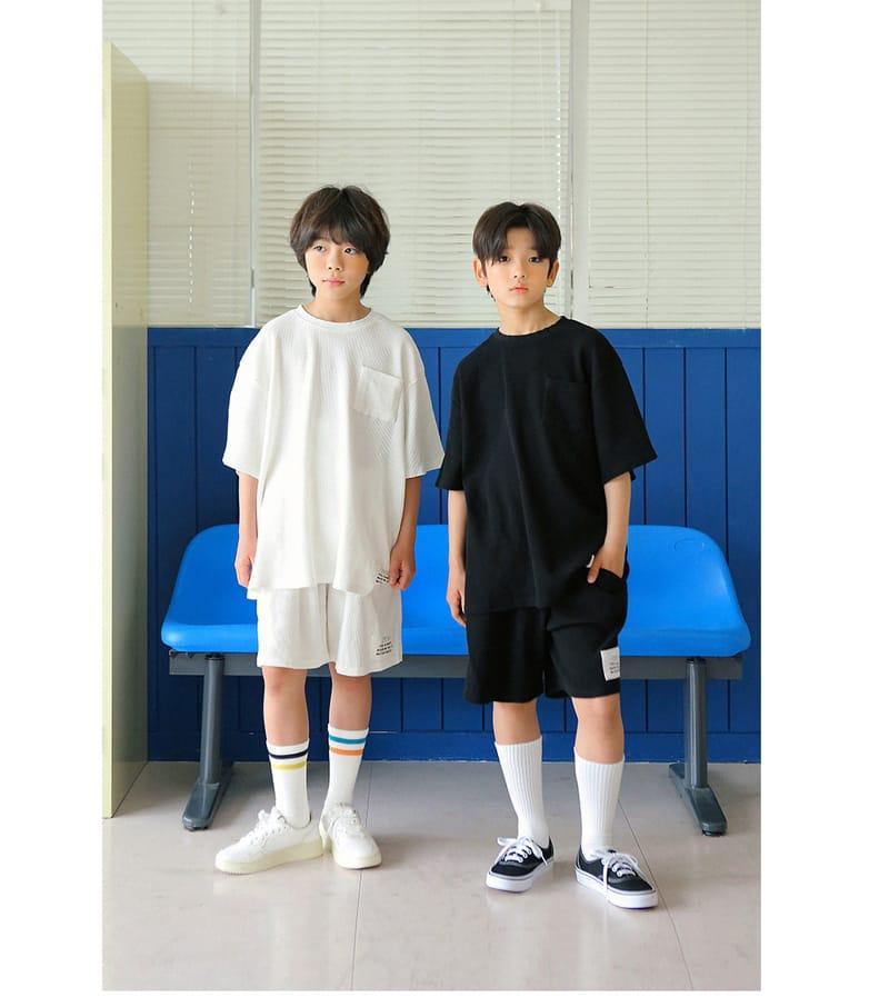 PEACH-CREAM - Korean Children Fashion - #Kfashion4kids - Ciampino Tee