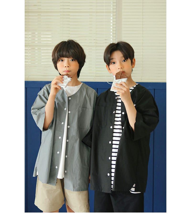 PEACH-CREAM - Korean Children Fashion - #Kfashion4kids - Brindisi Shirt