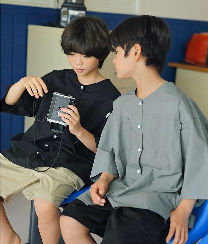 PEACH-CREAM - BRAND - Korean Children Fashion - #Kfashion4kids - Brindisi Shirt