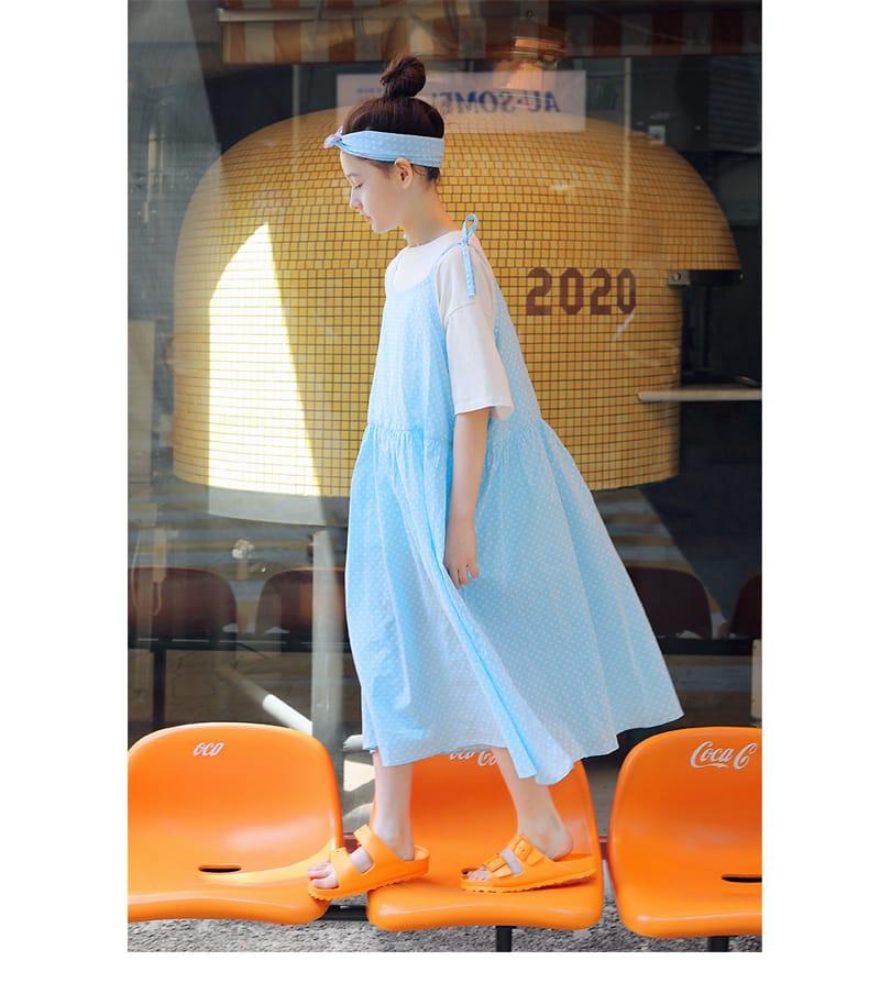 PEACH-CREAM - Korean Children Fashion - #Kfashion4kids - Cremona One-piece