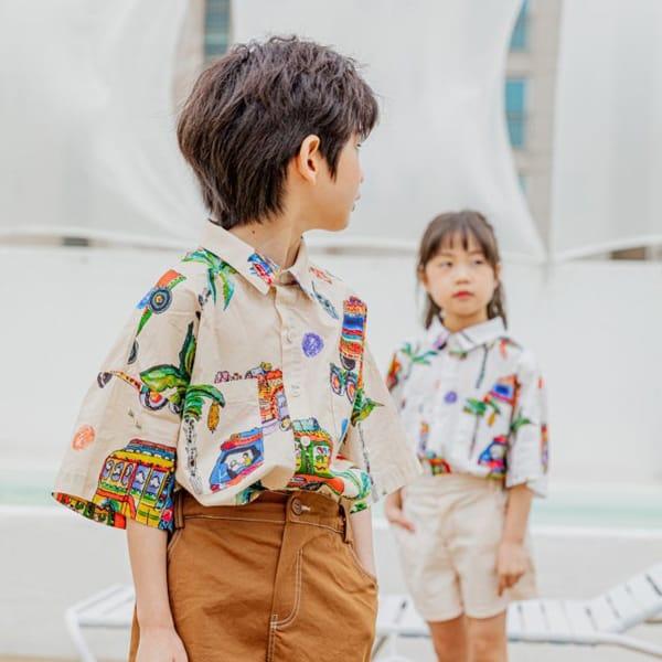 PEANUT - Korean Children Fashion - #Kfashion4kids - Beep Beep Beep shirt