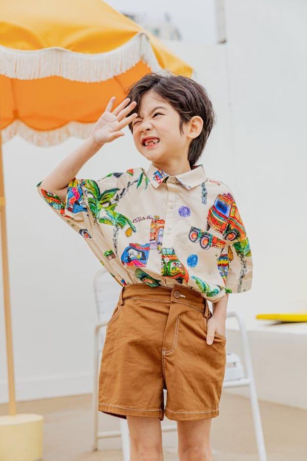 PEANUT - Korean Children Fashion - #Kfashion4kids - Beep Beep Beep shirt - 4
