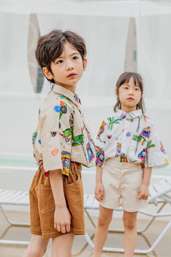 PEANUT - Korean Children Fashion - #Kfashion4kids - Beep Beep Beep shirt - 5