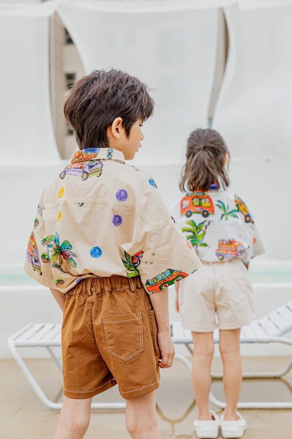 PEANUT - Korean Children Fashion - #Kfashion4kids - Beep Beep Beep shirt - 6
