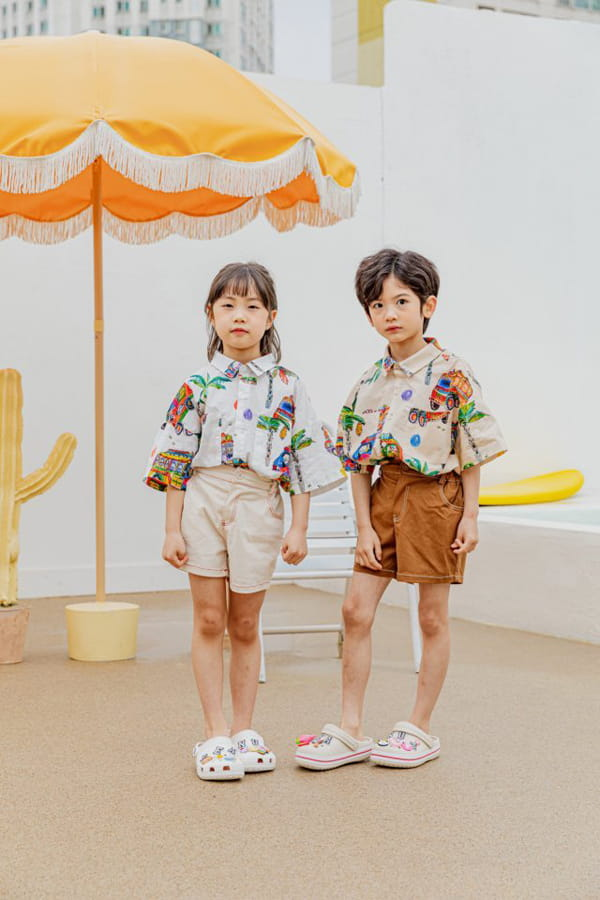 PEANUT - Korean Children Fashion - #Kfashion4kids - Beep Beep Beep shirt - 7