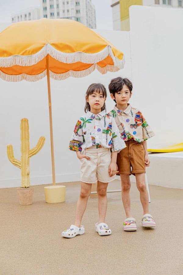 PEANUT - Korean Children Fashion - #Kfashion4kids - Beep Beep Beep shirt - 8