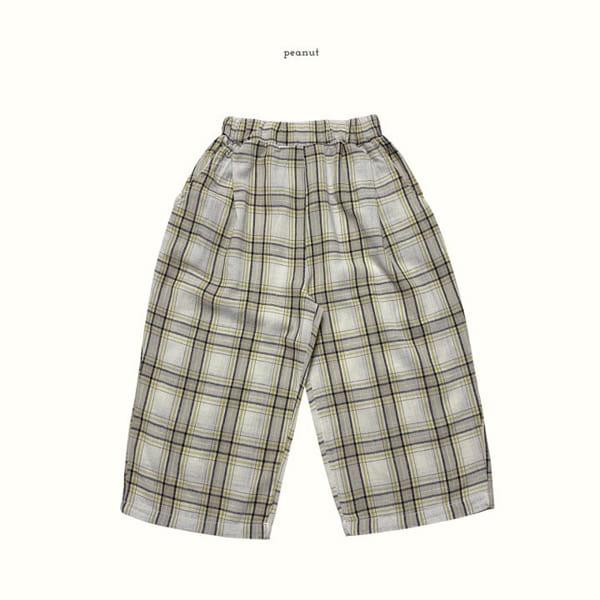 PEANUT - Korean Children Fashion - #Kfashion4kids - Delly Check Pants - 11