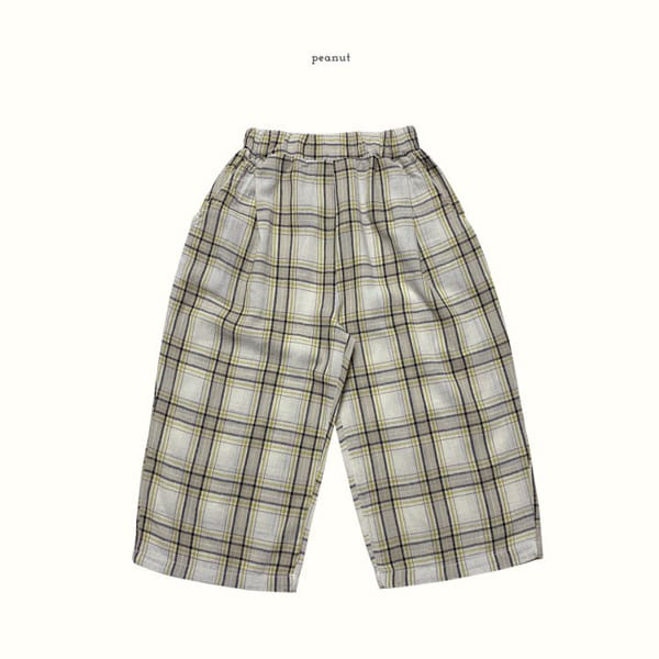 PEANUT - Korean Children Fashion - #Kfashion4kids - Delly Check Pants - 2