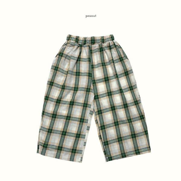 PEANUT - Korean Children Fashion - #Kfashion4kids - Delly Check Pants - 3