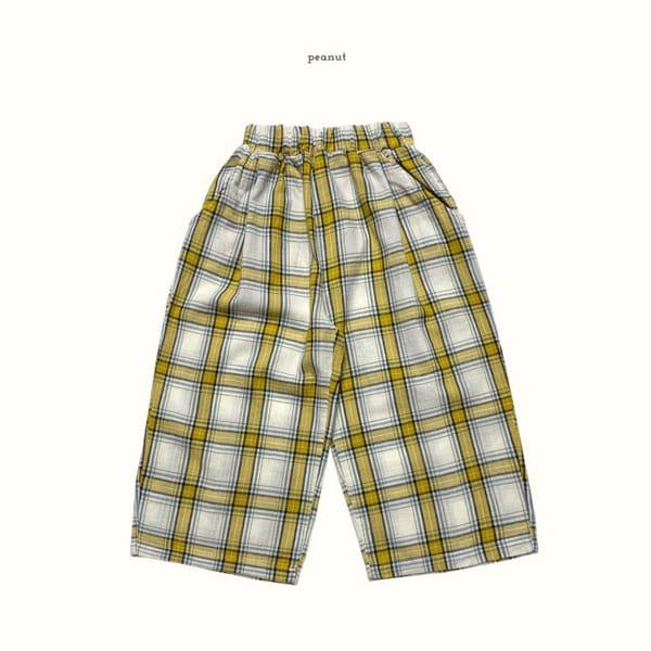 PEANUT - Korean Children Fashion - #Kfashion4kids - Delly Check Pants - 4