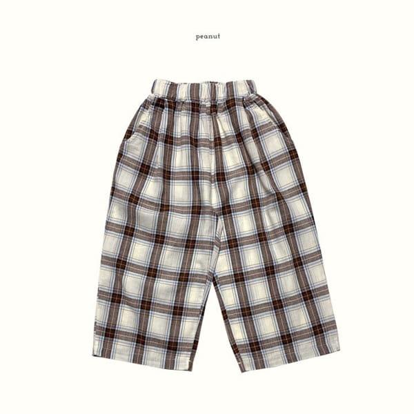 PEANUT - Korean Children Fashion - #Kfashion4kids - Delly Check Pants - 5