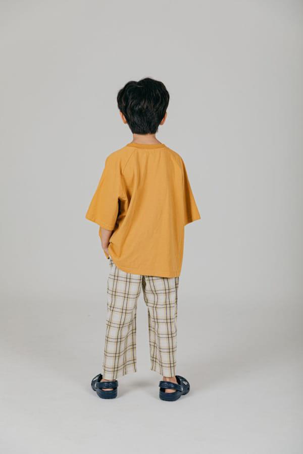 PEANUT - Korean Children Fashion - #Kfashion4kids - Delly Check Pants - 6