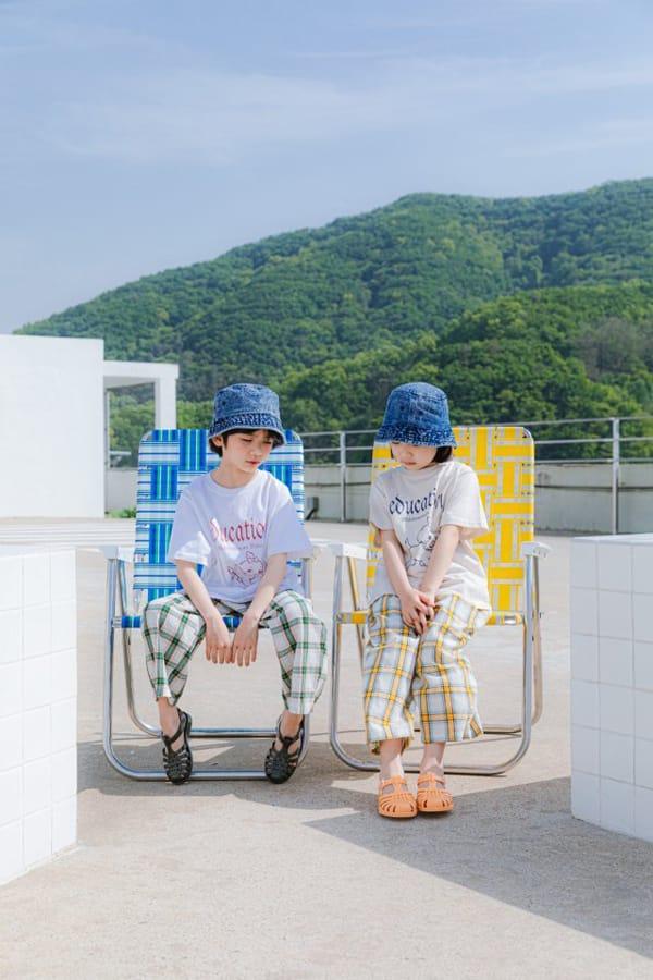 PEANUT - Korean Children Fashion - #Kfashion4kids - Delly Check Pants - 8
