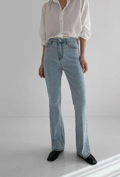 PERMIL - Korean Children Fashion - #Kfashion4kids - Long Line Straight Bootcuts Pants - 2