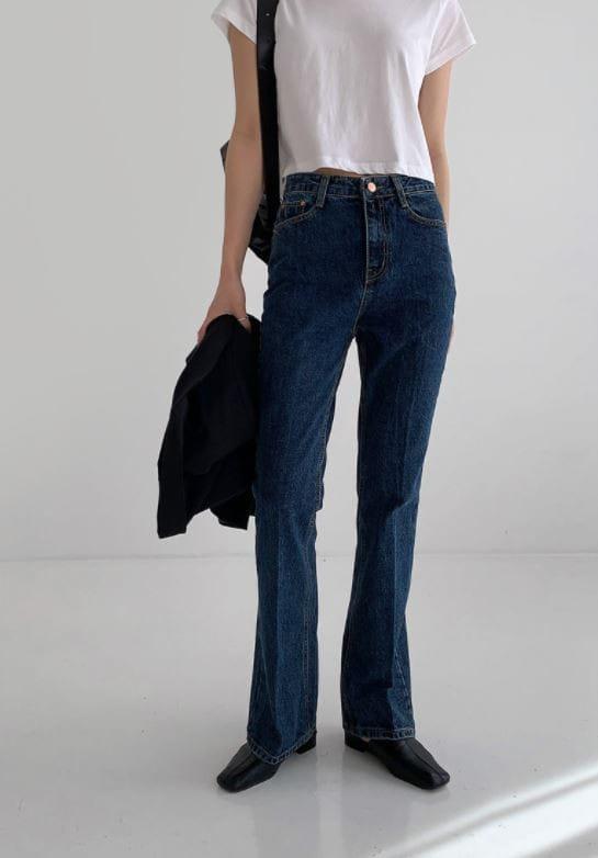 PERMIL - Korean Children Fashion - #Kfashion4kids - Long Line Straight Bootcuts Pants - 4