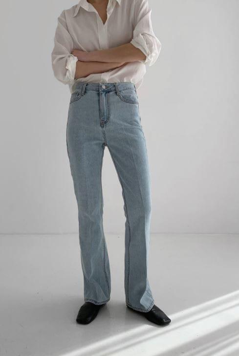 PERMIL - BRAND - Korean Children Fashion - #Kfashion4kids - Long Line Straight Bootcuts Pants