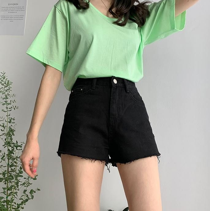 PERMIL - Korean Children Fashion - #Kfashion4kids - Nan Spandex Shorts  - 4