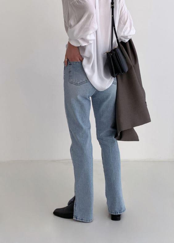 PERMIL - Korean Children Fashion - #Kfashion4kids - Nan Slit Wide Pants