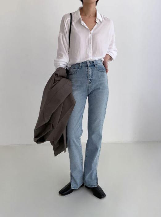 PERMIL - Korean Children Fashion - #Kfashion4kids - Nan Slit Wide Pants - 3
