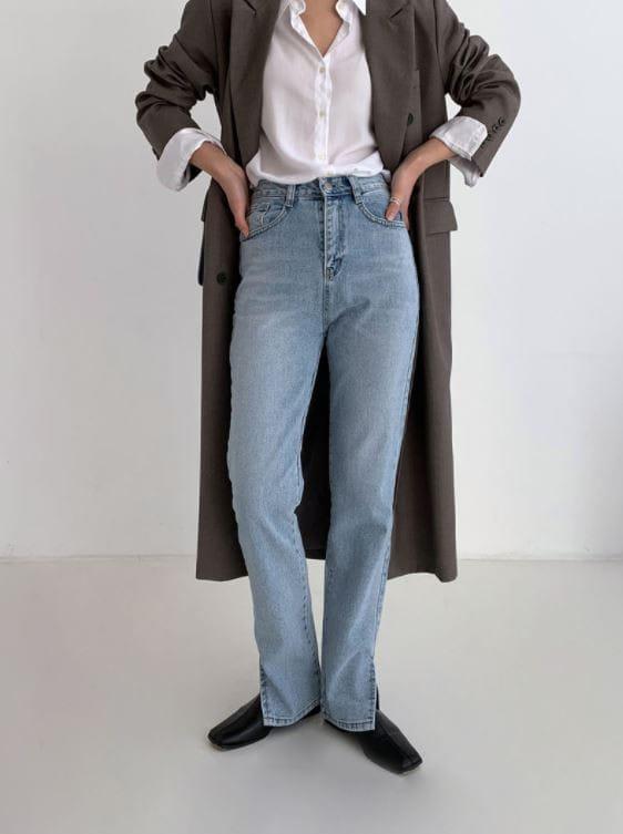 PERMIL - Korean Children Fashion - #Kfashion4kids - Nan Slit Wide Pants - 4