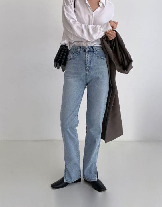 PERMIL - BRAND - Korean Children Fashion - #Kfashion4kids - Nan Slit Wide Pants