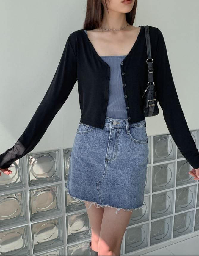 PERMIL - Korean Children Fashion - #Kfashion4kids - Nan Spandex Skirt Shorts