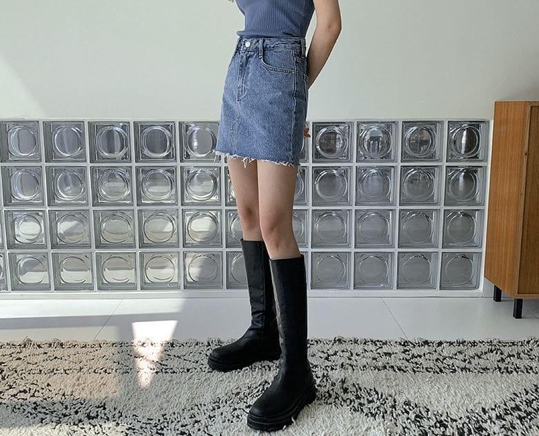 PERMIL - Korean Children Fashion - #Kfashion4kids - Nan Spandex Skirt Shorts - 4