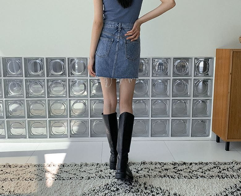 PERMIL - Korean Children Fashion - #Kfashion4kids - Nan Spandex Skirt Shorts - 5