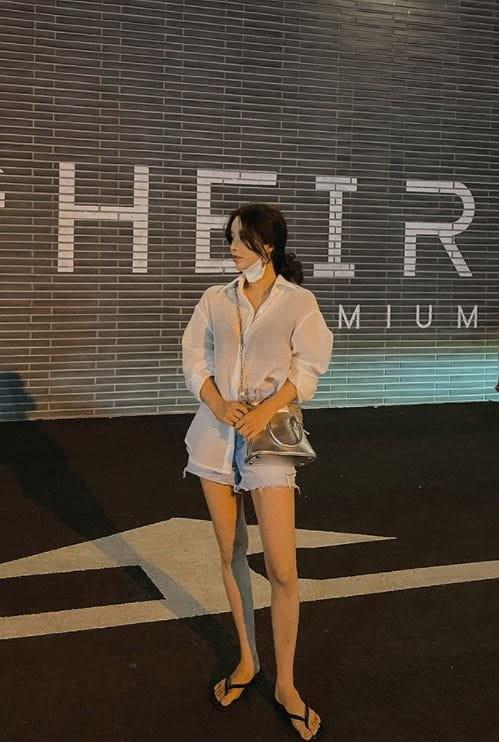 PERMIL - Korean Children Fashion - #Kfashion4kids - Nan Spandex Side Slit Shorts - 3