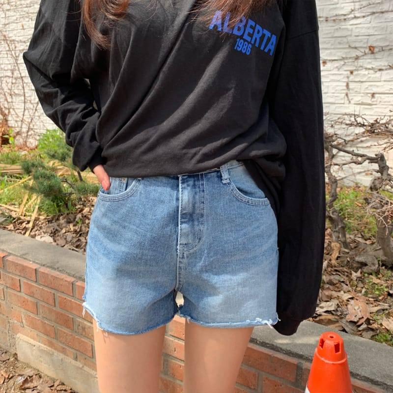 PERMIL - Korean Children Fashion - #Kfashion4kids - Nan Spandex Simple Shorts