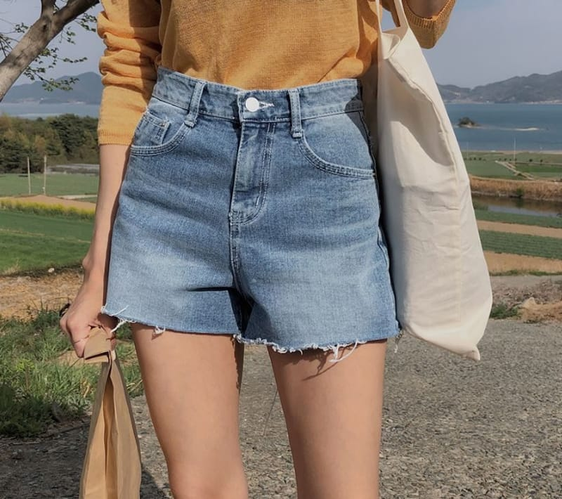 PERMIL - Korean Children Fashion - #Kfashion4kids - Nan Spandex Simple Shorts - 4