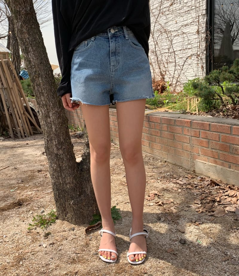 PERMIL - BRAND - Korean Children Fashion - #Kfashion4kids - Nan Spandex Simple Shorts