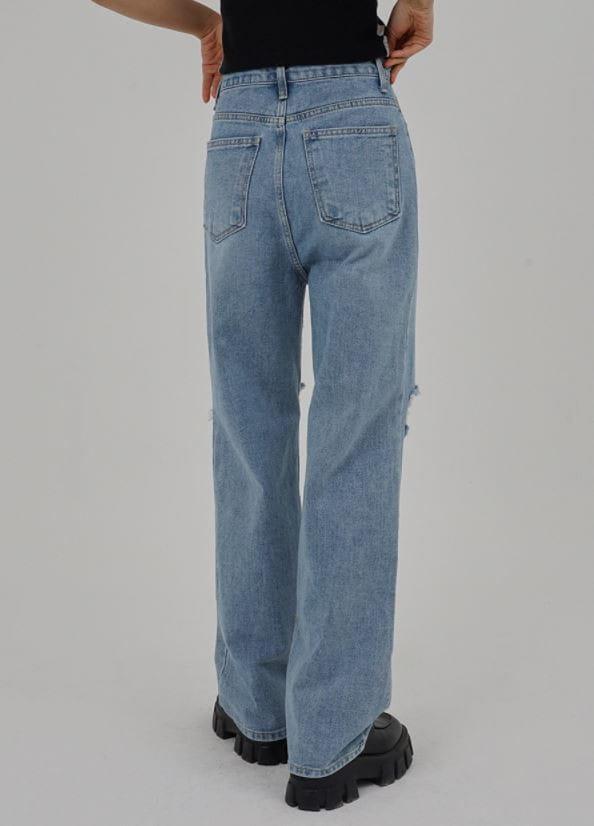 PERMIL - Korean Children Fashion - #Kfashion4kids - Nan span Vintage Long Straight Pants - 3