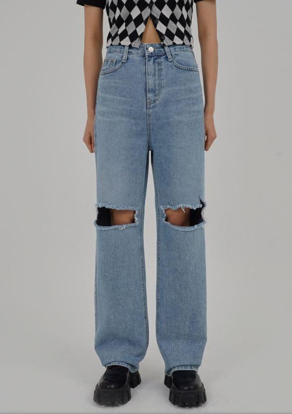 PERMIL - Korean Children Fashion - #Kfashion4kids - Nan span Vintage Long Straight Pants - 4