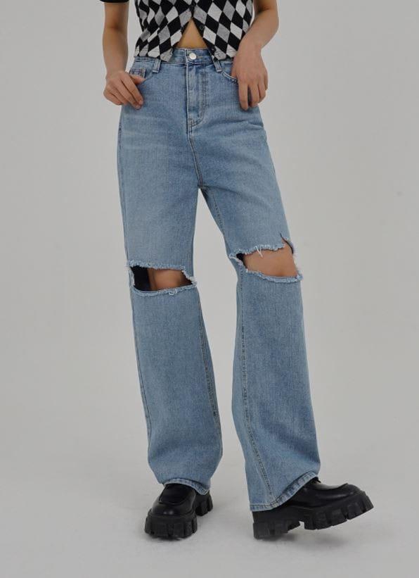 PERMIL - Korean Children Fashion - #Kfashion4kids - Nan span Vintage Long Straight Pants - 5