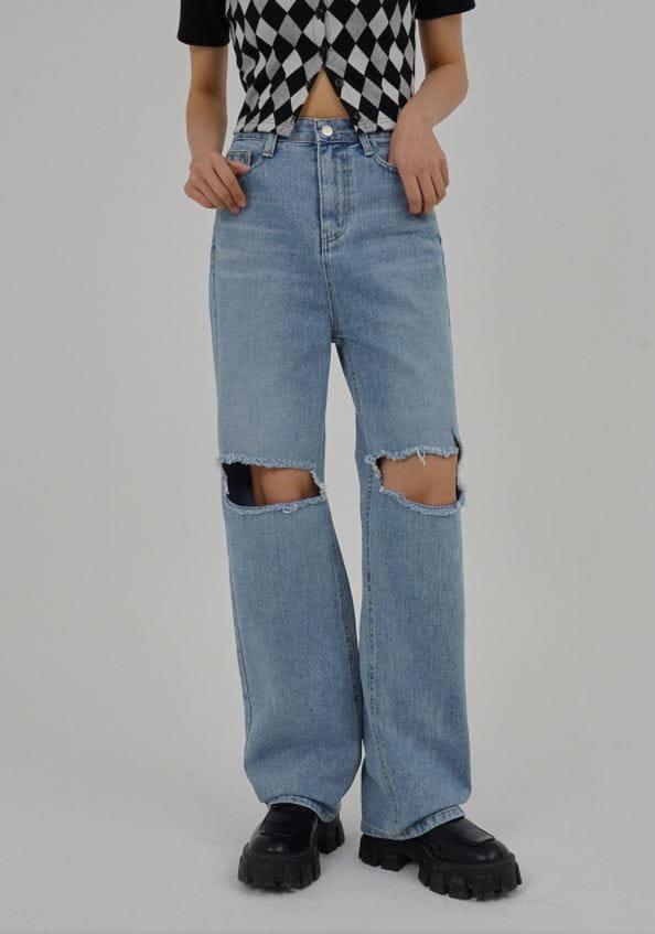 PERMIL - BRAND - Korean Children Fashion - #Kfashion4kids - Nan span Vintage Long Straight Pants