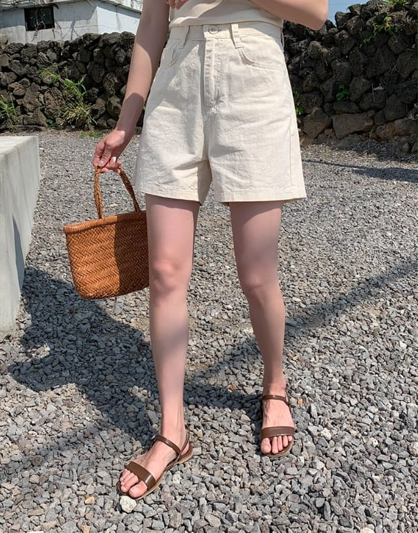 PERMIL - BRAND - Korean Children Fashion - #Kfashion4kids - Basic Cotton Pants