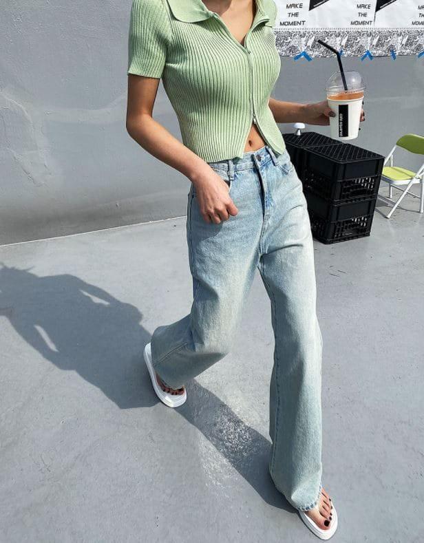 PERMIL - Korean Children Fashion - #Kfashion4kids - Wide Bootcut Pants - 3