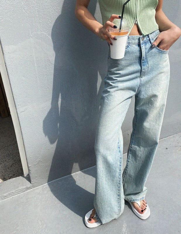 PERMIL - Korean Children Fashion - #Kfashion4kids - Wide Bootcut Pants - 5